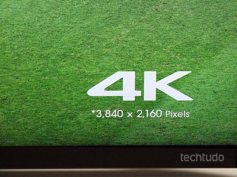 A resolução da tv (Foto: TechTudo/Fabricio Vitorino)