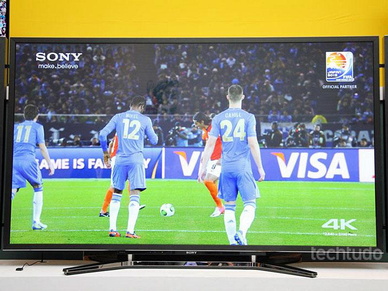 A resolução da tv é incrivel (Foto: TechTudo/Fabricio Vitorino)