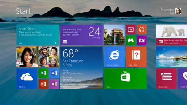Windows 8.1 trará o botão Iniciar, novos tiles e maior integração com o Skydrive (Foto: Reprodução) (Foto: Windows 8.1 trará o botão Iniciar, novos tiles e maior integração com o Skydrive (Foto: Reprodução))
