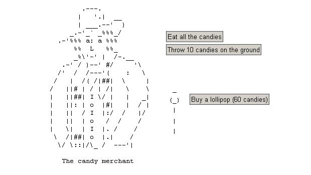 O personagem candy merchant se tornou a cara de Candy Box (Foto: Reprodução)