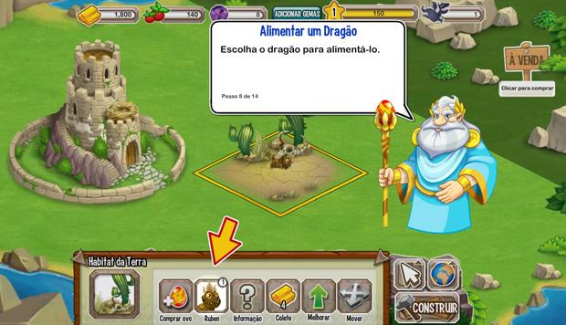 Crie seu primeiro dragão e coloque-o em seu habitat (Foto: TechTudo) (Foto: Crie seu primeiro dragão e coloque-o em seu habitat (Foto: TechTudo))