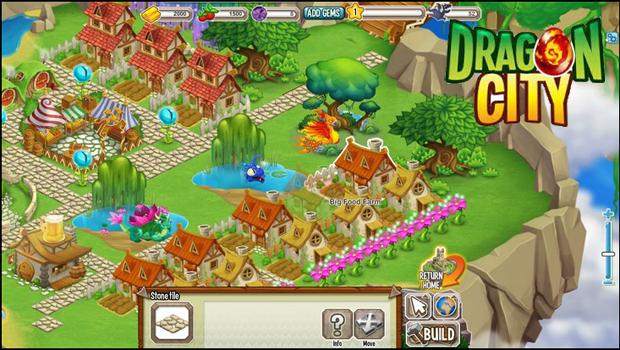 Treine seus dragões em Dragon City (Foto: Divulgação)