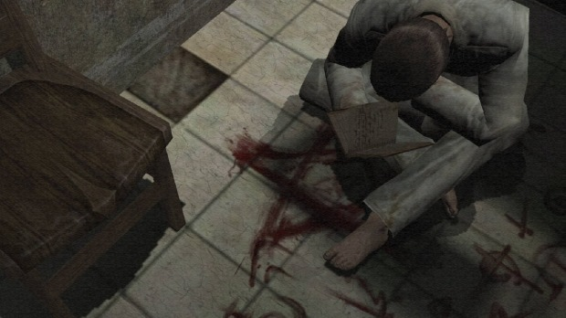 O personagem principal começa insano em um asilo (Foto: Divulgação)
