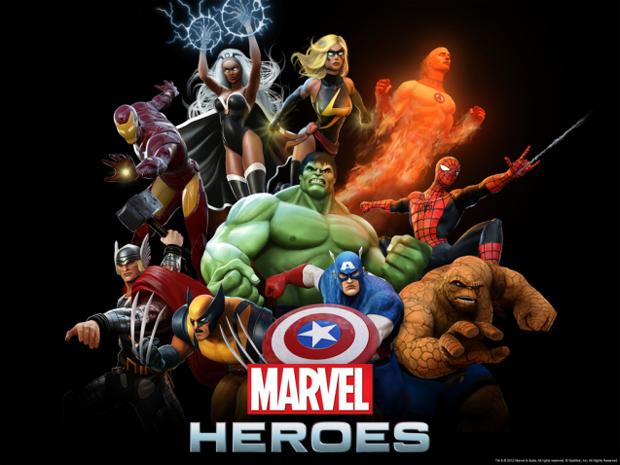 Marvel Heroes (Foto: Divulgação)