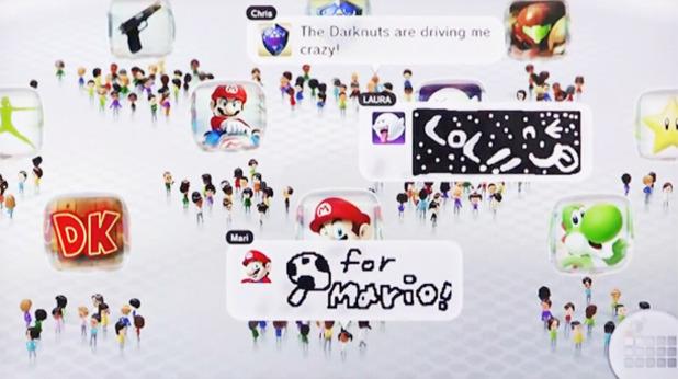 O Miiverse finalmente organizou amigos em uma rede social (Foto: Divulgação)