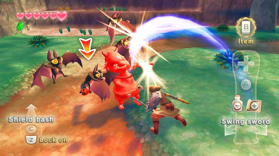 Zelda: Skyward Sword é um feito, mas pode ter chegado tarde demais. (Foto: Divulgação)