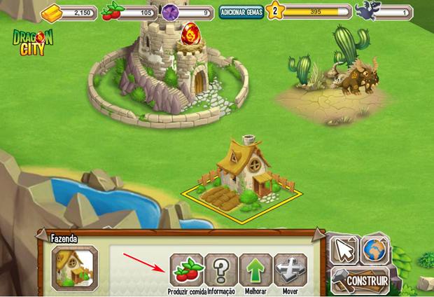 Produza comida e alimente seus dragões (Foto: TechTudo) (Foto: Produza comida e alimente seus dragões (Foto: TechTudo))