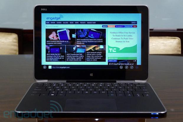 Dell aposta na tela de alta resolução e no acabamento de primeira (Foto: Reprodução/Engadget)