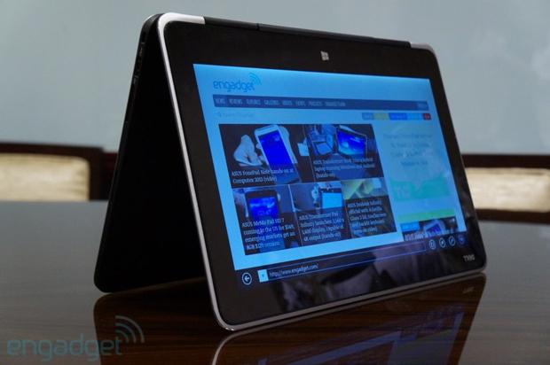 Híbrido promete conveniência do tablet e o conforto do teclado físico de um notebook (Foto: Reprodução/Engadget)