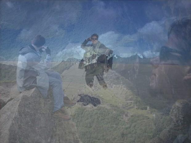 Foto com múltipla exposição criada no Photoshop (Foto: Reprodução/Daniel Ribeiro)