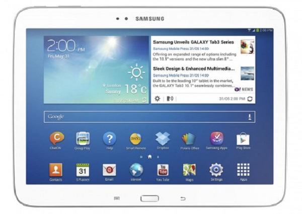 Galaxy Tab 3 novo é um concorrente para o iPad (Foto: Divulgação)