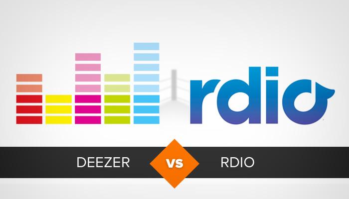 Deezer ou Rdio? Compare e descubra qual é o melhor streaming de música (Foto: Arte/TechTudo)