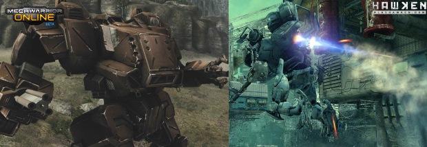 Qual é melhor: Hawken ou MechWarrior Online? (Foto: Divulgação / Techtudo)