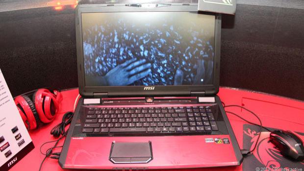 GT70 Dragon Edition 2 Extreme, novo laptop gamer de alta performance da MSI (Foto: Reprodução/CNET)