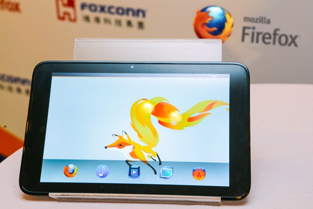 Tablet da Mozilla apareceu em evento na China (Foto: Reprodução/Engadget)