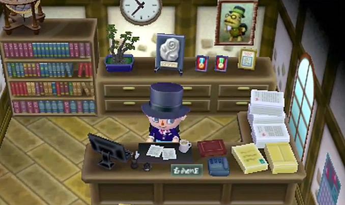 Você pode ser um prefeito em Animal Crossing: New Leaf  (Foto: Reprodução)
