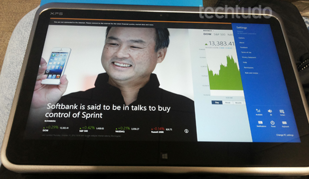 Ultrabook/tablet da Dell com i7 da Intel (Foto: Pedro Zambarda)