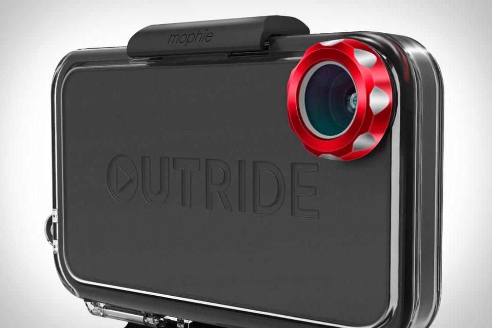 """Outride da Mophie transforma o iPhone em uma câmera estilo """"Go Pro"""" (Foto: Divulgação)"""