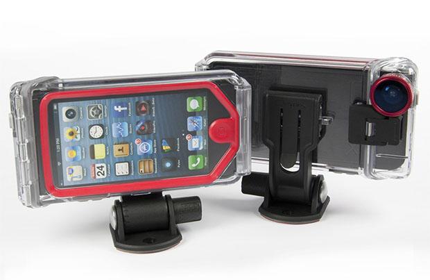 """Optrix XD5 é outra boa opção para quem quer usar o iPhone como uma """"action camera"""" (Foto: Divulgação)"""
