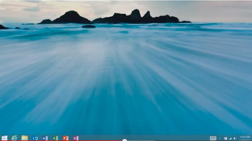 Vídeo publicado pela Microsoft mostra o retorno do botão Iniciar no Windows 8.1. (Foto: Reprodução / YouTube)