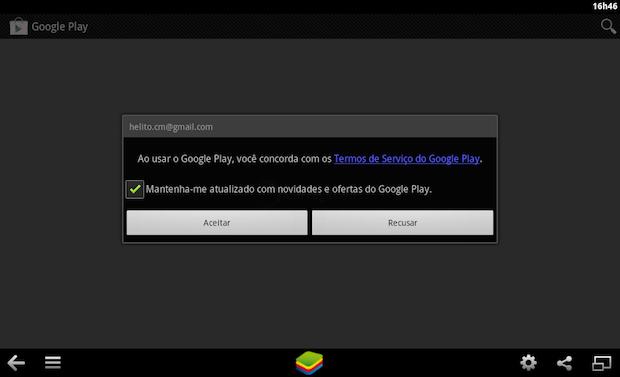 whatsapp para pc - Clique em Aceitar