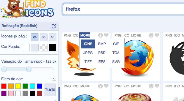 Baixando ícone personalizado (Foto: Reprodução/Helito Bijora)