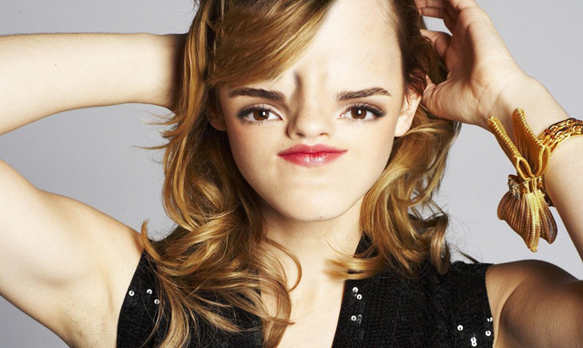 """Emma Watson com """"Sloth Facing"""" (Foto: Reprodução/ Imgur)"""
