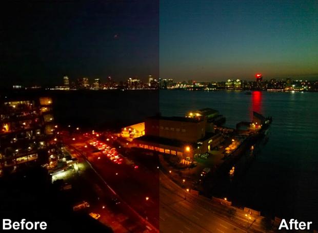 Fotos à noite também ficam bem melhores (Foto: Reprodução/TechCrunch)