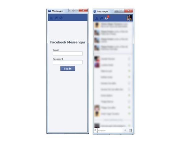 Facebook Messenger para Windos (Foto: Aline Jesus/Reprodução) (Foto: Facebook Messenger para Windos (Foto: Aline Jesus/Reprodução))
