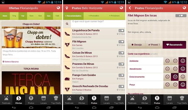 BuscaPrato é um guia de boa culinária no seu celular (Foto: Divulgação)