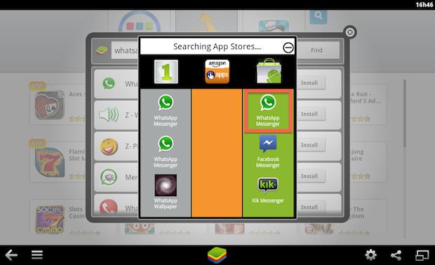 Instalando app através da loja do Google (Foto: Reprodução/Helito Bijora)