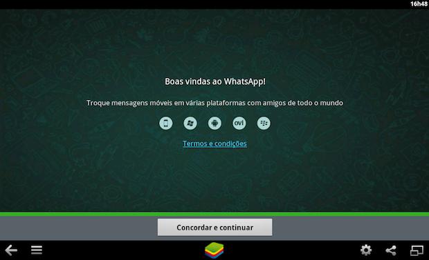 WhatsApp rodando no Mac (Foto: Reprodução/Helito Bijora)