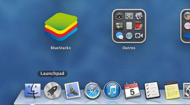 Abrindo o BlueStack através do Lauchpad (Foto: Reprodução/Helito Bijora)