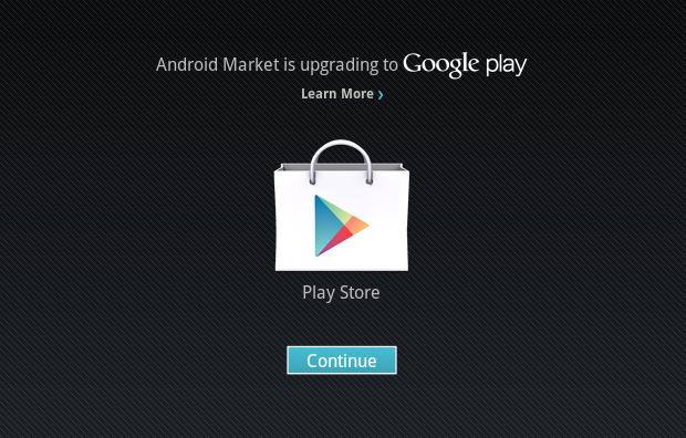 Atualizando loja de aplicativos (Foto: Reprodução/Helito Bijora)