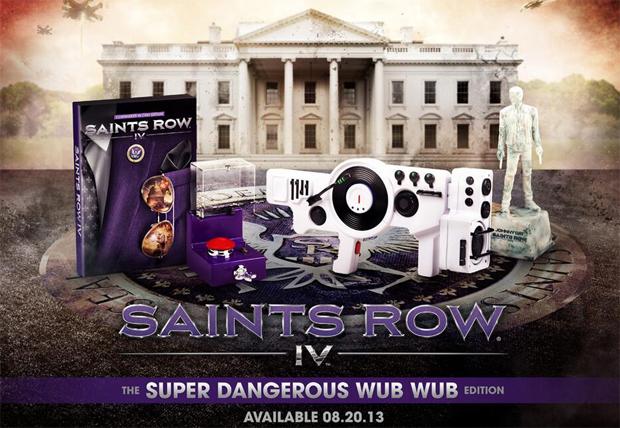 Saints Row 4 e sua edição especial exagerada (Foto: Divulgação)