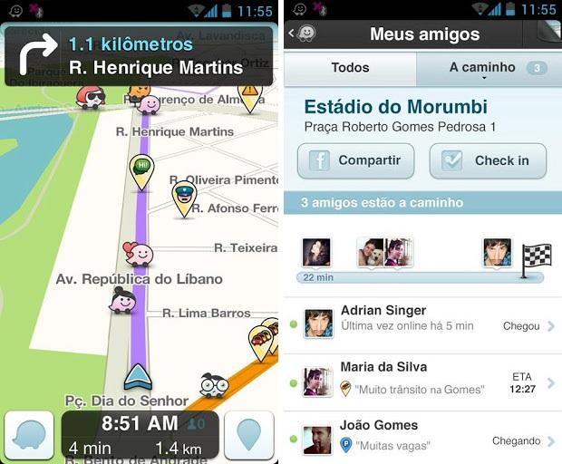 Waze está cada vez melhor no Android (Foto: Divulgação)