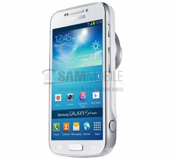 Galaxy S4 Zoom trás câmera semelhant ao do Galaxy Camera (foto: Divulgação)