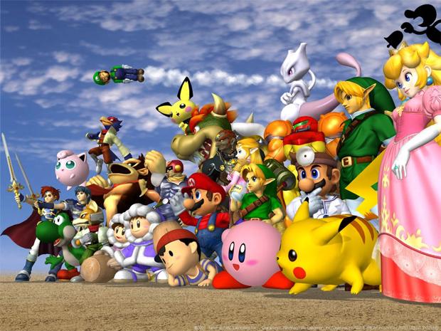 Super Smash Bros. é sempre certeza de sucesso (Foto: Divulgação)