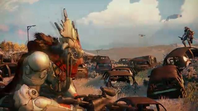 Destiny apresenta belos cenários futuristas (Foto: Reprodução)
