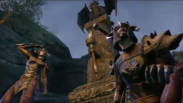 Versão beta de The Elder Scrolls Online chegará primeiro para o PS4 (Foto: Reprodução)