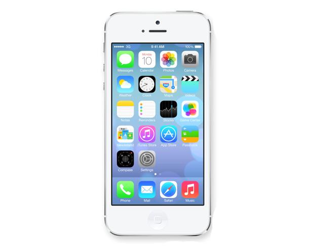 iOS 7 teve seus ícones e tela inicial redesenhados (Foto: Divulgação)