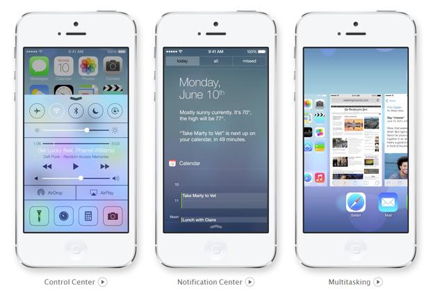iOS 7 trará novos recursos e interface de aplicativos remodelada (Foto: Divulgação)