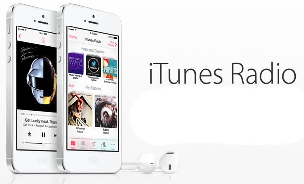 iTunes Radio é o novo serviço de streaming lançado pela Apple (Foto: Divulgação)