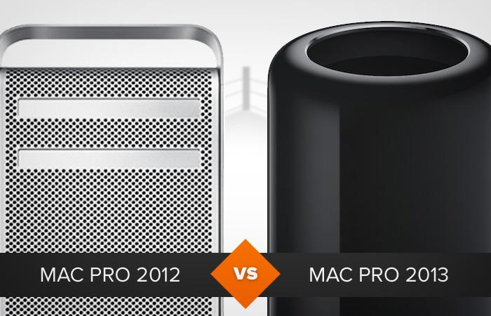 As diferenças entre o Mac Pro 2012 e o Mac Pro 2013 começam pelo design (Foto: Arte/TechTudo)