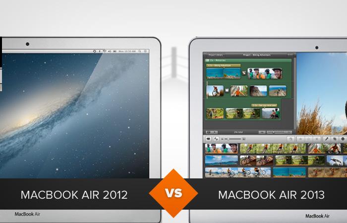 MacBook Air 2012 e MacBook Air 2013: o que mudou? (Foto: Arte/TechTudo)