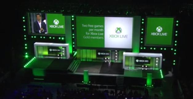 Foto panoramica do evento da Microsoft na E3 2013 (Foto: Reprodução)