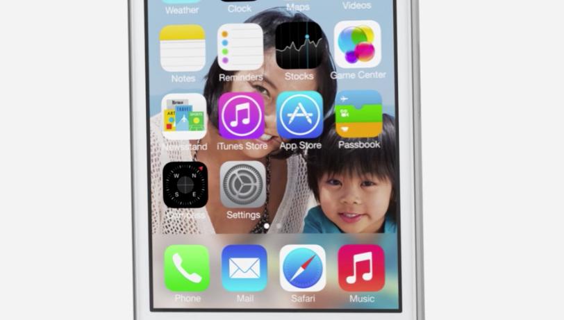 Nova itnerface do iOS 7 (Foto: Reprodução)