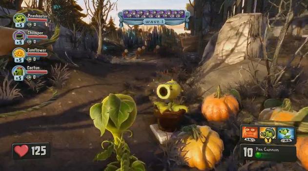Plants vS. Zombies foi um dos jogos apresentado pela EA Games (Foto: Reprodução)