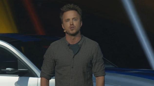 Aaron Paul falou sobre o filme inspirado no game Need for Speed  (Foto: Reprodução)