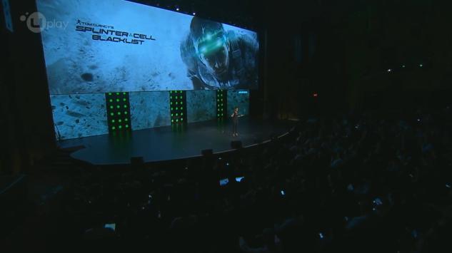 Splinter Cell BlackList também foi apresentado (Foto: Reprodução)